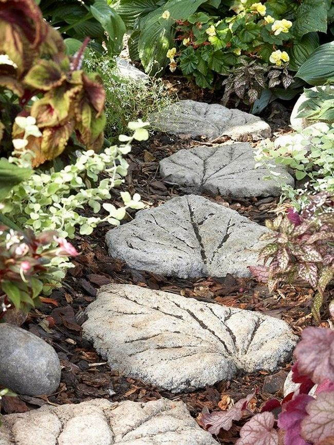 Do It Yourself Garden Stones