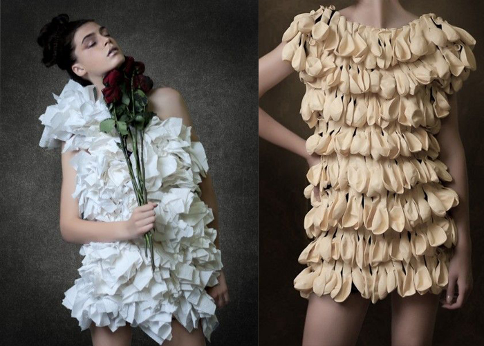 Eco Fashion Upcycled Dresses