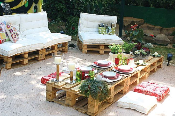 pallets-patio Ideas